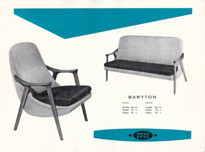 Baryton. Produsert av Møre Lenestolfabrikk.