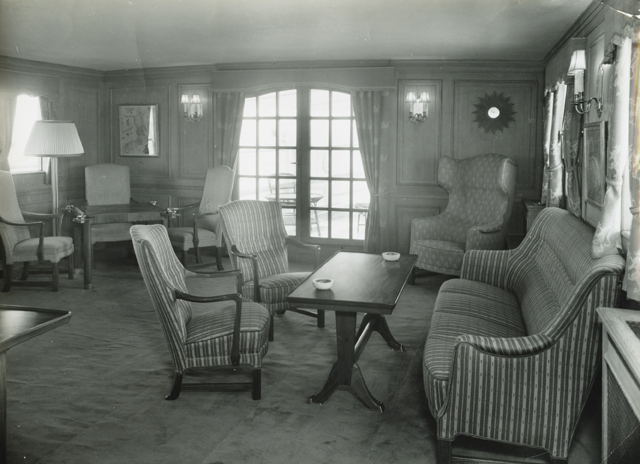 Kongeskipet Norge. 1948.
