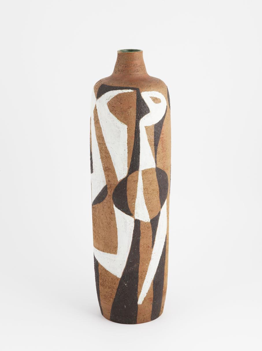 Kåre Berven Fjeldsaa. Vase. Utført ved eget verksted. Ca. 1955-57. (Foto: Mats Linder)