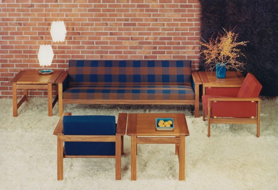 Gerhard Berg. Modell: Kubus. Produsert av Stokke Fabrikker. I produksjon fra ca. 1964.
