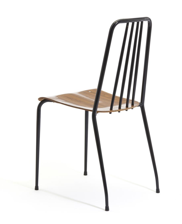 Hans Brattrud. Modell: Grorudstolen. Produsert av A. Grasaasen´s Fabrikker. I produksjon fra 1958. (Foto: Blomqvist Nettauksjon)