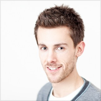 Mat Smith Photography - Radio 4 Actor Tom Graham (Tom Archer) at home