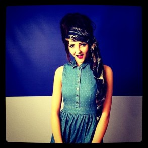 Mat Smith Photography - Dublin Topshop - Instagram Girl with Head Scarf