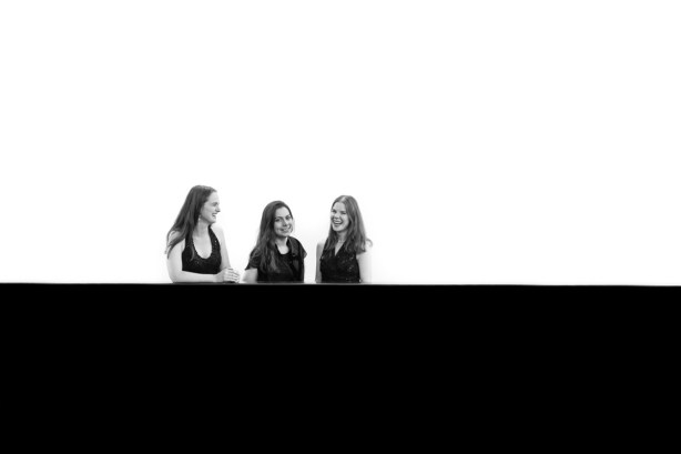 Mat Smith Photography - Artist Concept Shot - BW - Trio laugh - Tate