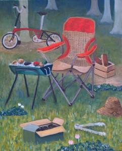 木曜絵画教室Mさんの作品