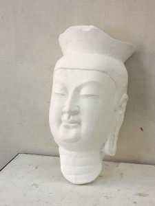 石膏像弥勒菩薩