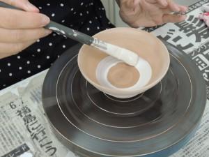 素焼き用白化粧土