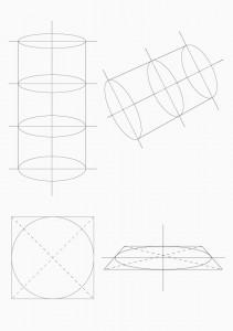 円柱の捉え方