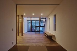 神戸市N様邸、陽だまり空間の家