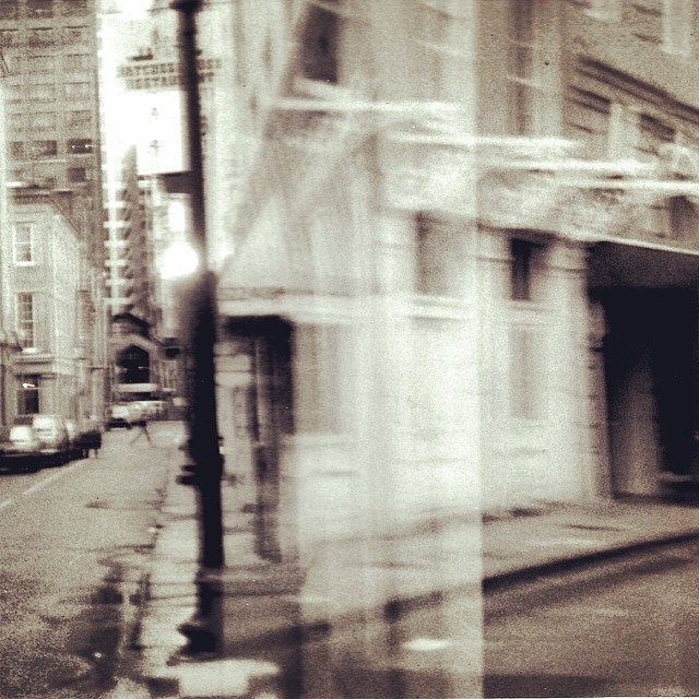 Best picture I ever shot. Film jammed, so it was an accident.