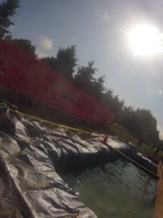 balance beam over water