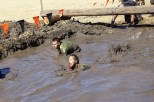 Sploosh in the mud!