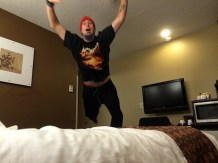 Fun in the Hotel room