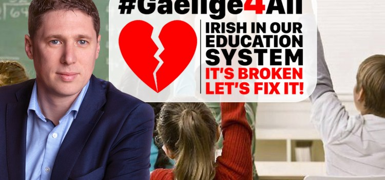 Carthy commits Sinn Féin support for '#Gaeilge4All' campaign
