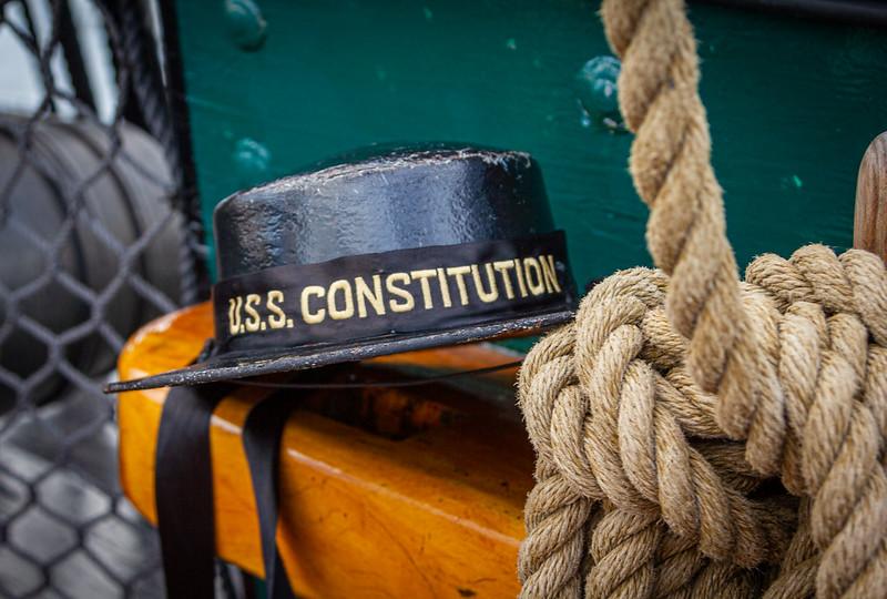 USS Constitution Cap & Rope