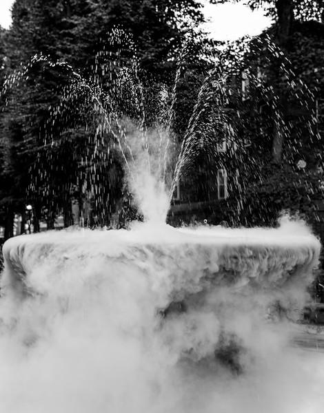 Smokey Prado Fountain for National Night Out