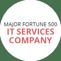 Major Fortune 500 IT Services Company
