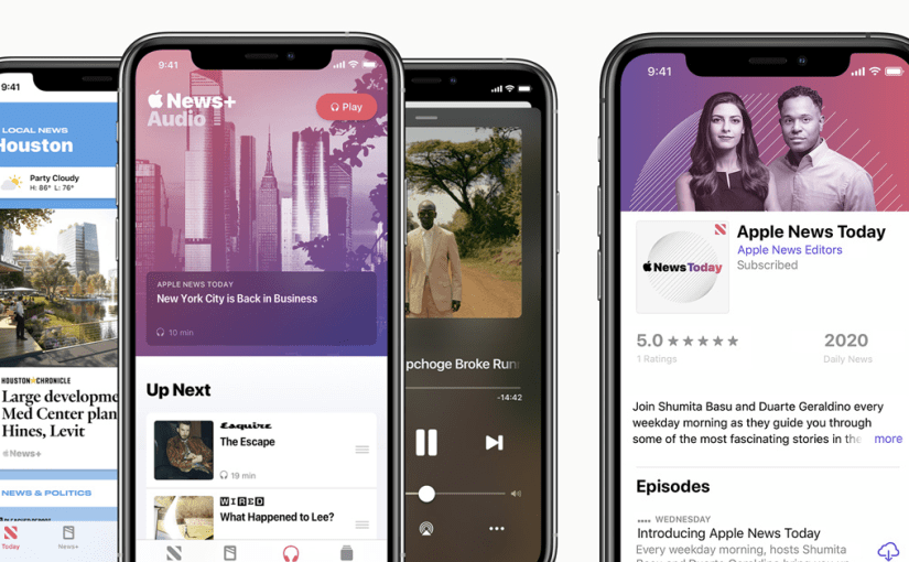 Apple Makes Its Own News Podcast