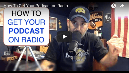 how to promote your podcast get on radio