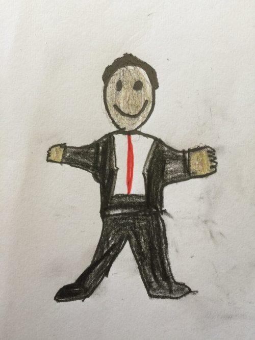 Business Man Drawing Rocco Dubiel