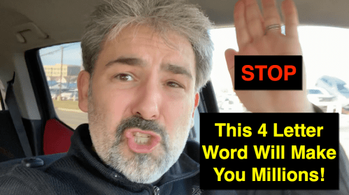 Four Letter Word Will Make You Millions