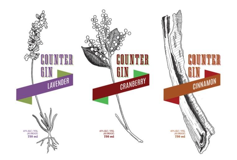 Counter-Gin-Ribbons