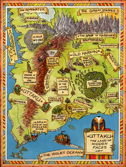 fabled lands uttaku map