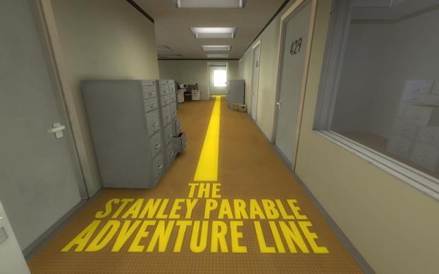 the-stanley-parable adventure line