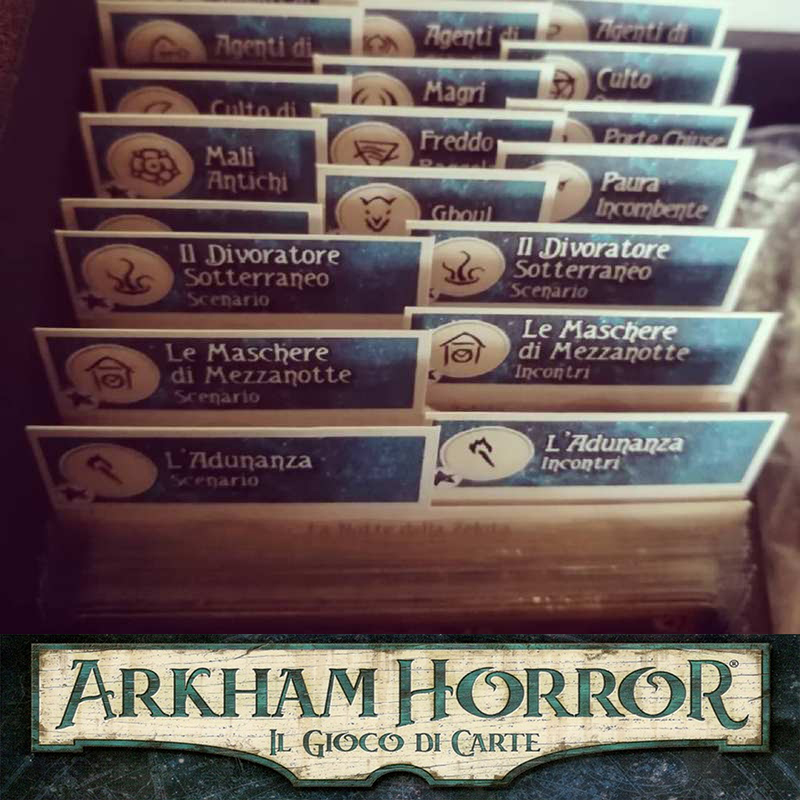 Materiale per Arkham Horror - Il Gioco di Carte