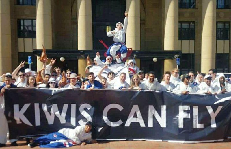 Flying Kiwis Squad 2017 Pregame