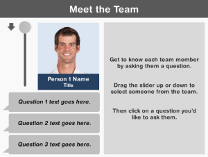 Meet the Team Interaction