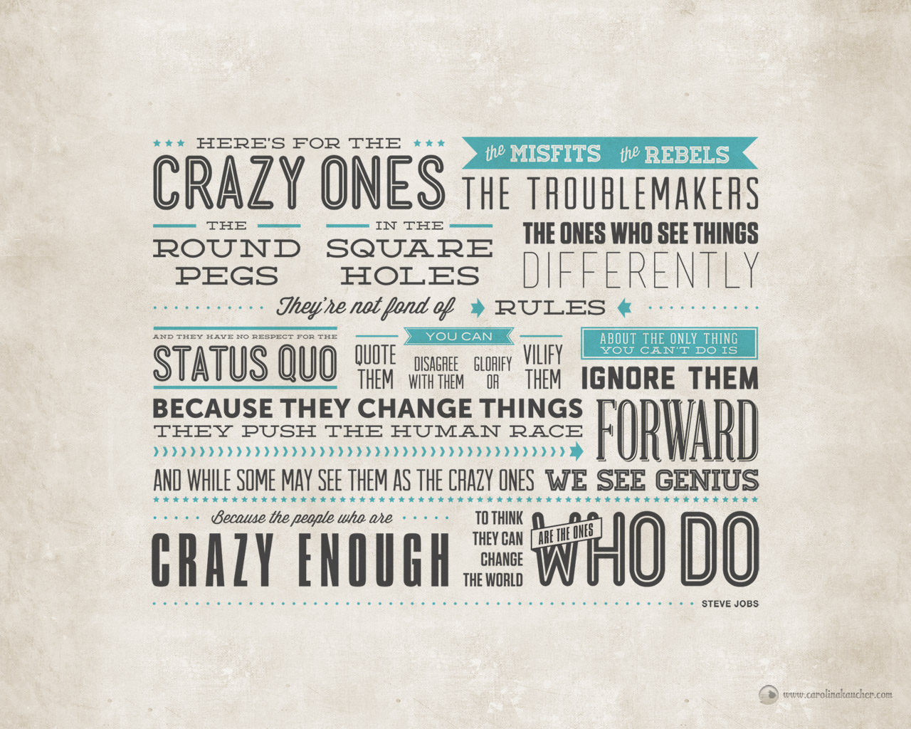 Here's To the Crazy Ones - Chief Marketing Engineer