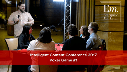 ICC2017 - Enterprise Marketer Poker Game