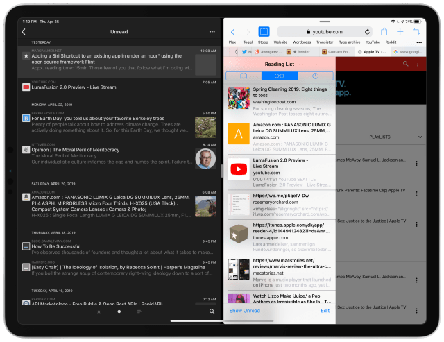 Reeder is back and better than ever (my new favorite RSS app