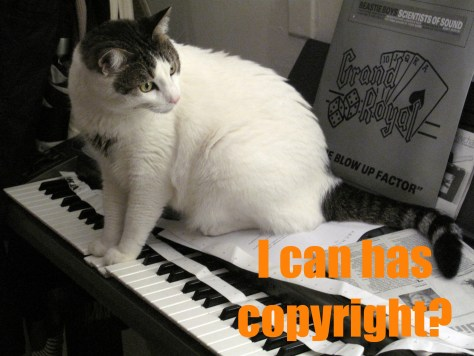 I can has copyright?