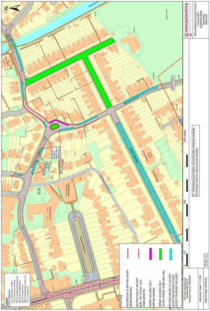 Shrubbery area RPS plans