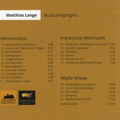 CD-Cover Musical Highlights