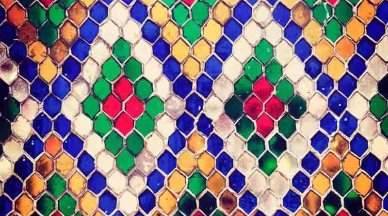 Modello a Mosaico Fluido