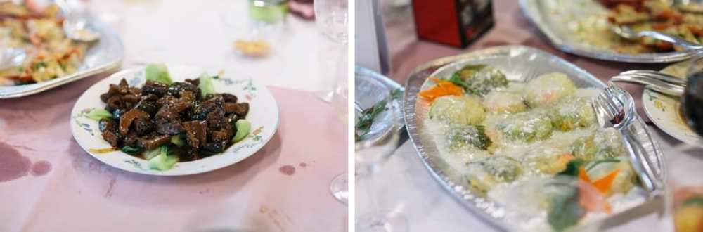 mat, kinesiskt bröllop