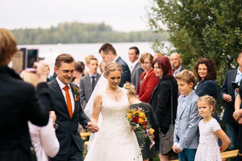 Bröllopsfotograf Kinna, två skyttlar