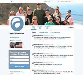 Allen Orthodontics Twitter