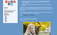 Social Networking and WordPress Blog Development for Allen Orthodontics