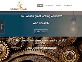 Golden Goose Labs - Desktop Home Page