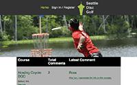 Seattle Disc Golf Website
