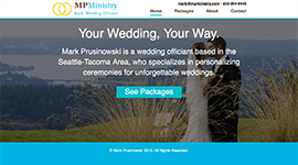 MP Ministry - Desktop Home page