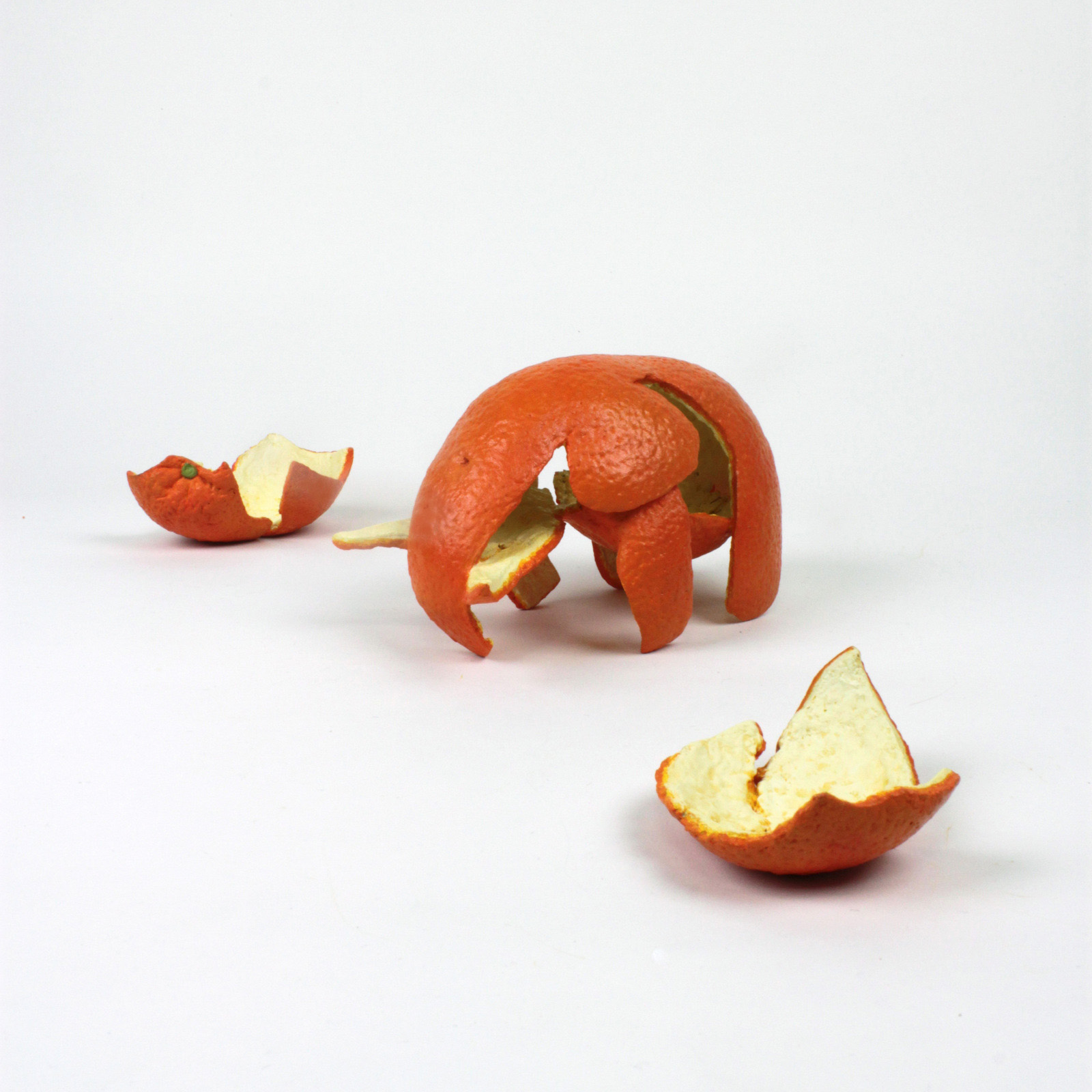Two Orange Peels, 2003