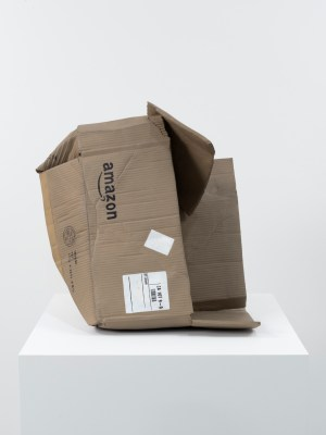 Untitled (Amazon Box), 2016