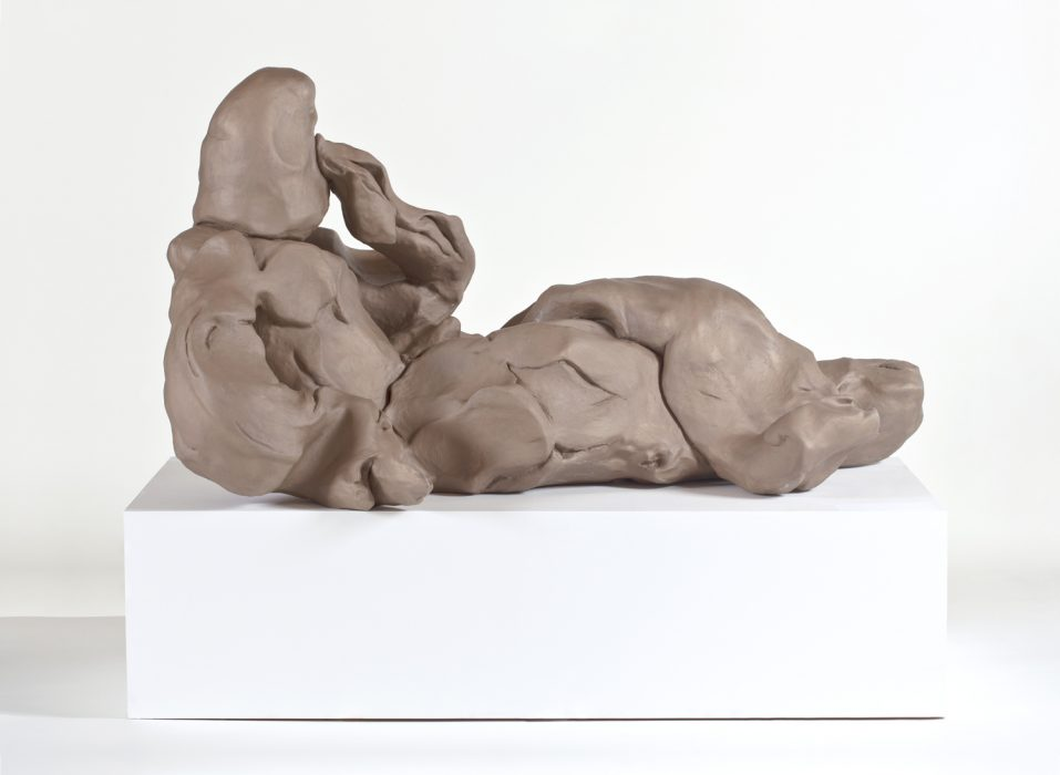Odalisque, 2010 Bronze 37 x 73 x 37 inches