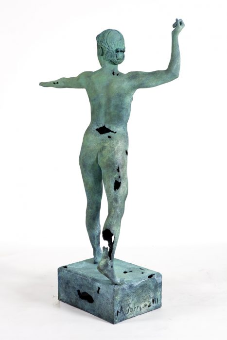 Object of Antiquity (Artemis), 2011 Bronze with patina 83 x 65 x 19 inches