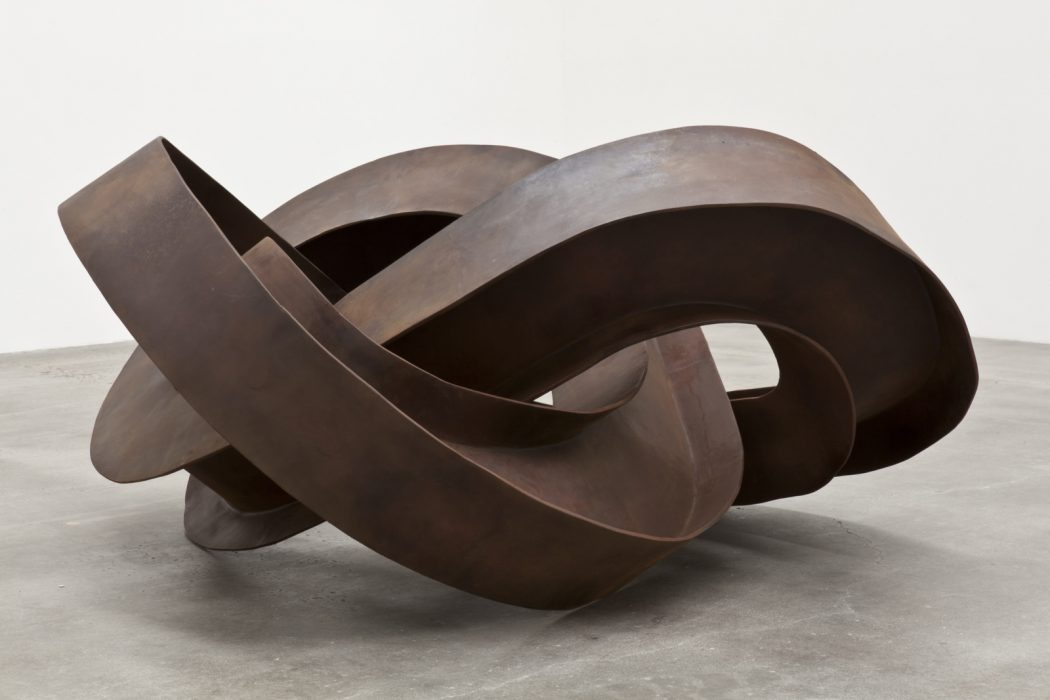 Trefoil I Beam, 2011 Mild steel 37 x 81 x 69 inches